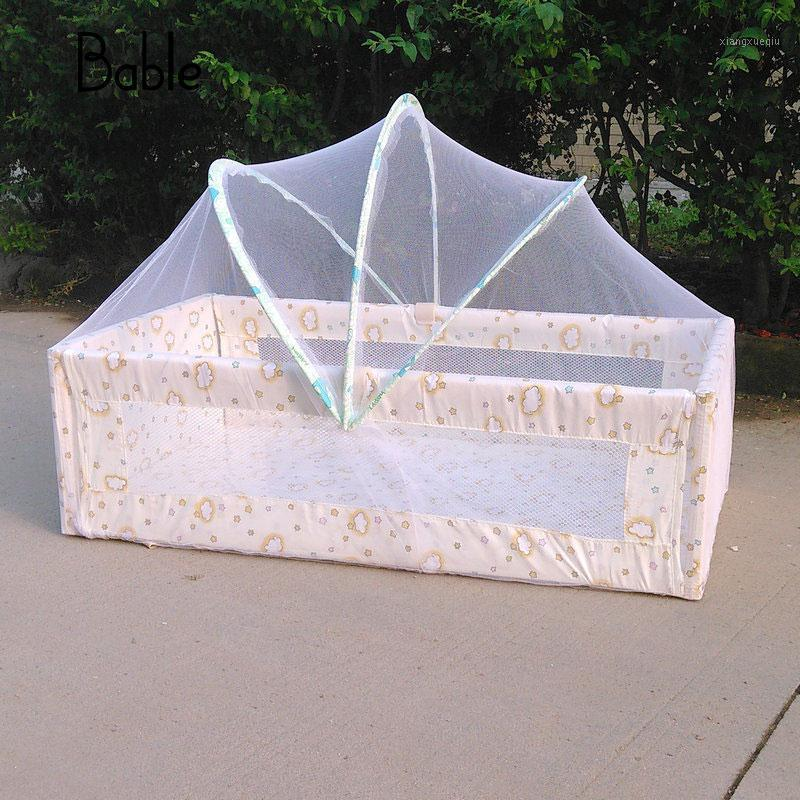 Tienda de cama de bebé Tarjetas infantiles Doblado Anti Mosquitero Neto Ningdlers Crib Cot Netting1