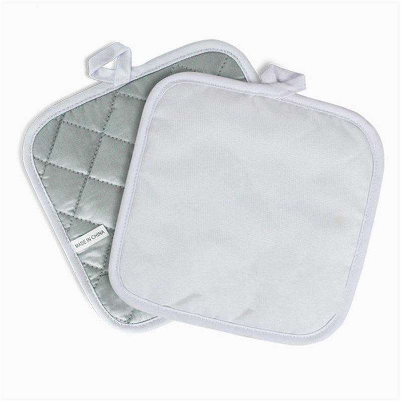 Sublimation Leeres DIY Kissen Küchenteller Schüssel Topf Isoliermatte Hochtemperatur Widerstandspads Tischdekoration 6YP G2