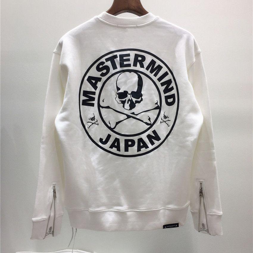 2021 neue Sweatshirts Männer Frauen 1: 1 Hochwertige Meistermind Japan Hoodies Herren Pullover Kanye West Crewneck Sweatshirt N7x9