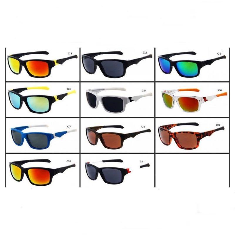 9135 Sports Sunglasses For Men And Women Cycling Goggles Mirror Lenses UV400 11 Colors Eyeglasses Wholesale