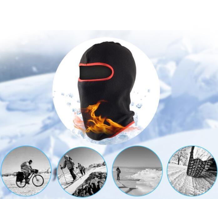 Nueva Moda Winter Warmer Motocicleta Mascarilla Ciclismo Táctica Táctica Gorón Sombreros Outdoor Sports Balaclava Hood Sports Skiing Cap Bufanda