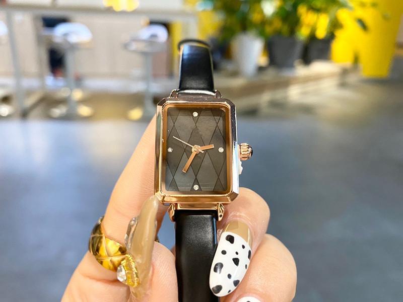 Orologio da ladie del movimento della signore del movimento del quarzo della linea di progettazione del marchio del marchio di modo di lusso