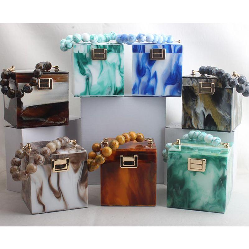 Подарок Свадебный кошелек D0UD акриловая коробка форма вечерняя сумка вечеринка сцепление женщин onnlf