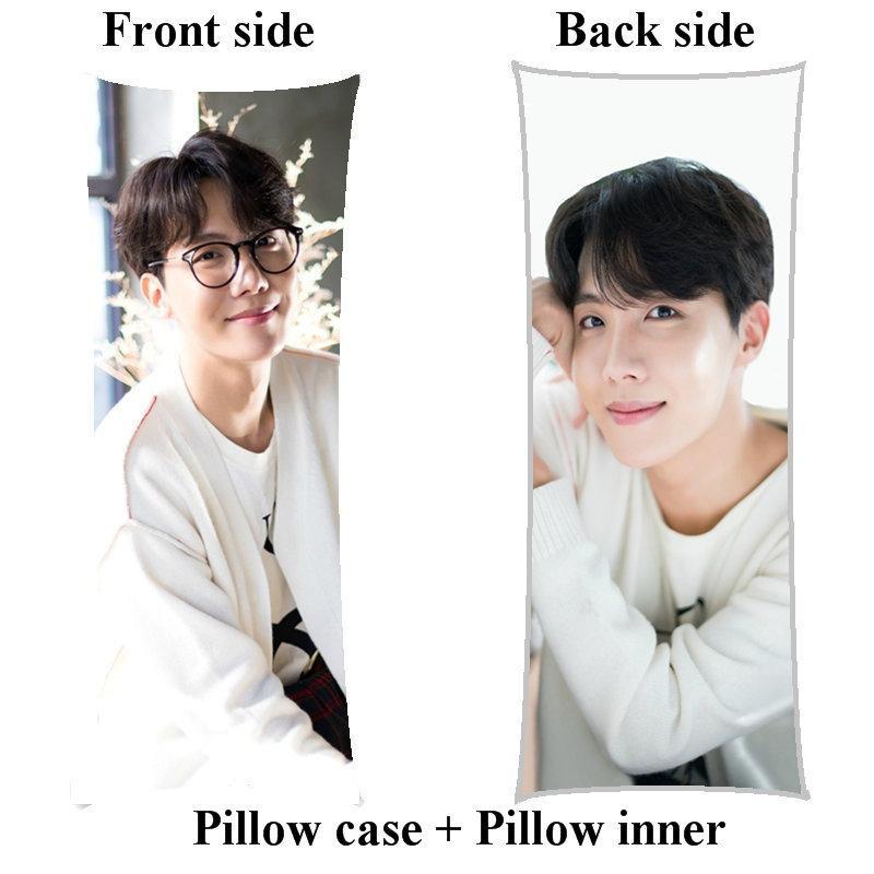 Kpop j-hope long body Pillow boyfriend Jeong Ho Seok home girl hugging pillow