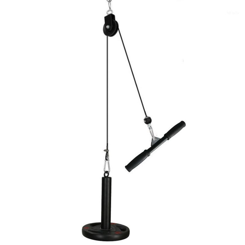 Вытащите и поднимите шкив шкив шкивную систему кабеля кабеля с загрузкой PIN-код для TrCieps, Crossover DIY Home Fight Surket Equipment1
