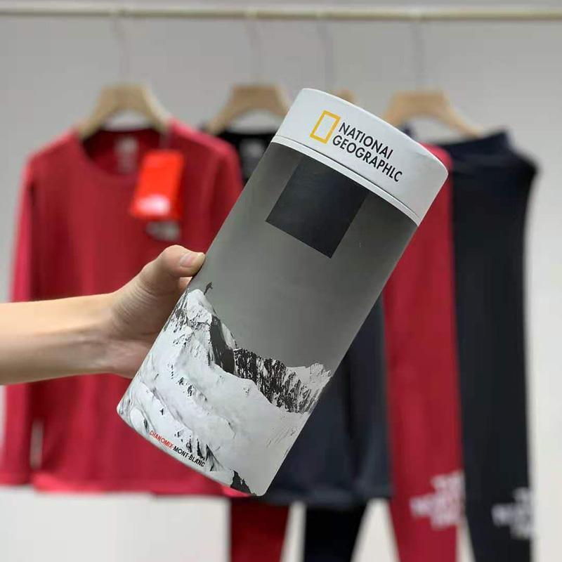 겨울 긴 열 속옷 세트 러시아 캐나다 및 유럽 여성 플러스 사이즈 O- 넥 열 열 속옷 세트 플러스 ve