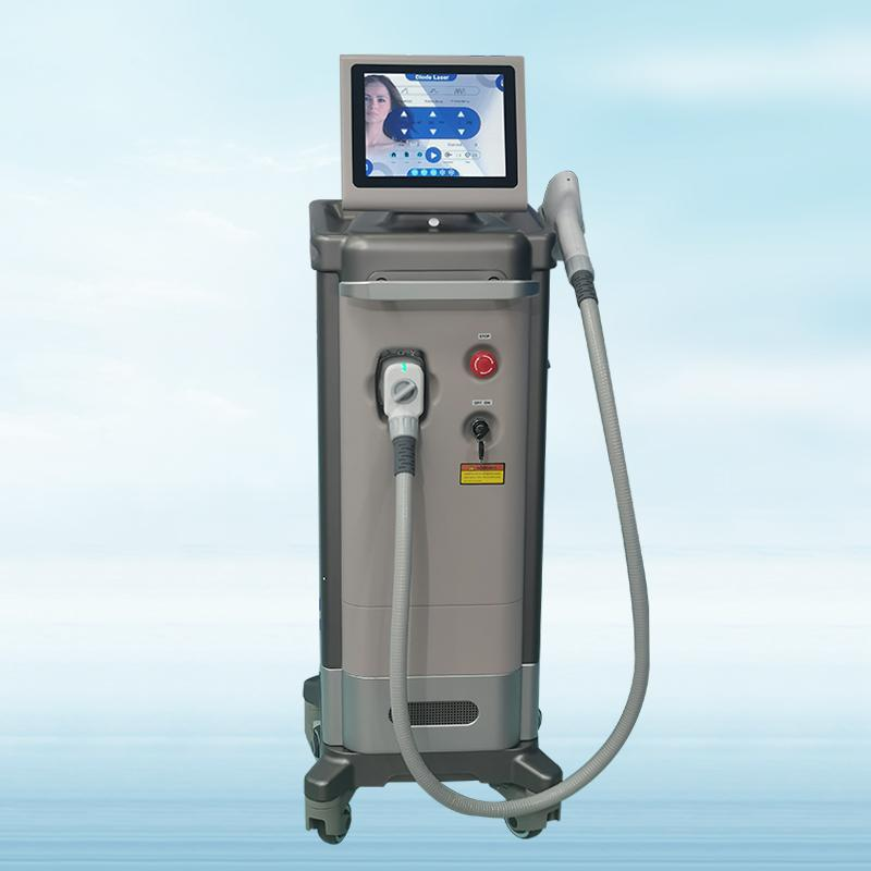 Unique shell Painless High Technology gentlease 808+755nm+1064nm diode laser Soprano Diode Laser Hair Removal Machine with high power