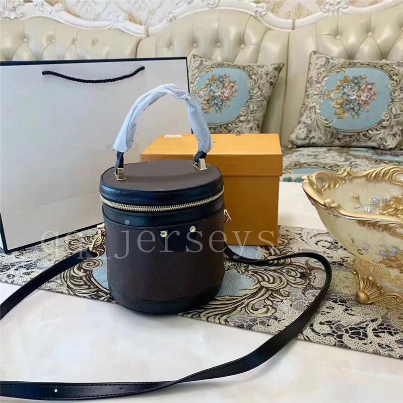 여성 핸드백 지갑 새로운 패션 여성 디자이너 핸드백 최고 품질의 화장품 케이스 버킷 가방 어깨 가방 크로스 바디 가방
