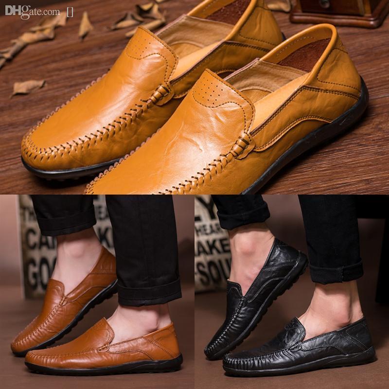 uas9k heiß !! Marke Designer MMM Schuhe Frauen Schuhleder Männer und Freizeitschuhe Neue Ledernähte Hohe Qualität Männer