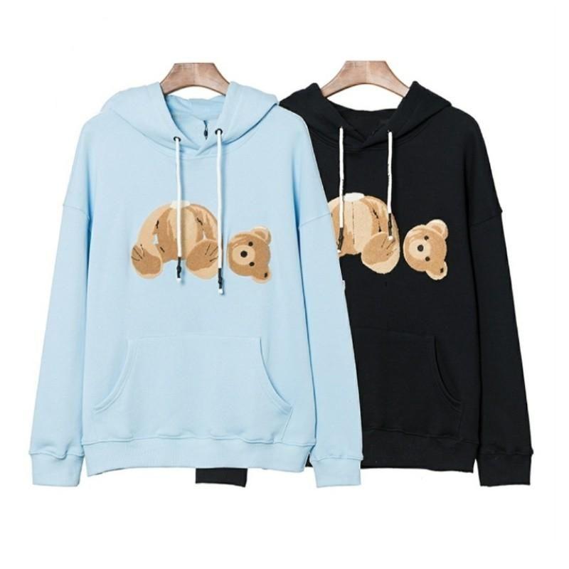 Neue Verkauf Mode Ein Palm Hoodie Engel Defekte Bär Sweatshirt Teddybär Trendy Terry Explosion Pullover Stil Männer und Frauen Größe S-XL 01