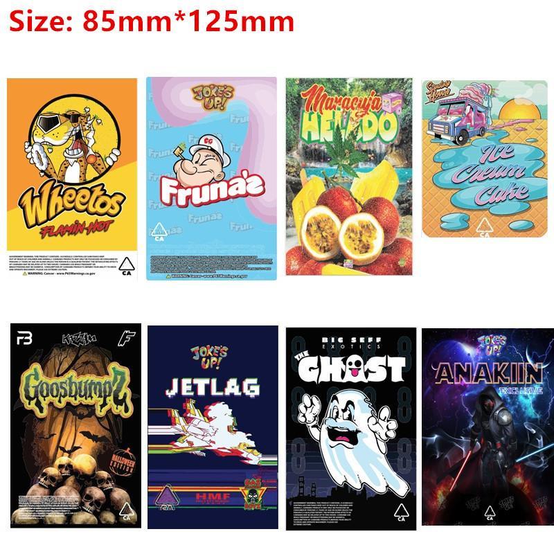 3.5g Borse Berry Pie Lato Pop Wheeos Collins Ave Maga Runtz Georgia Pie Runtz odore borse a prova di odore 420 fiori di erba secca