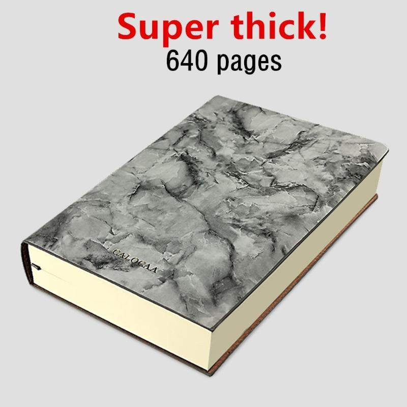 Super Thick! 640 Pages Ruled Notebook A5 Daily Notebook Life Records Best for 3-4 Years Writing
