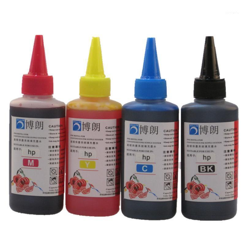 Наборы набора чернил 400 мл набора красителей для 655 картридж CiSs DeskJet Advantage 3525 4615 4625 5525 6520 6525 принтер1