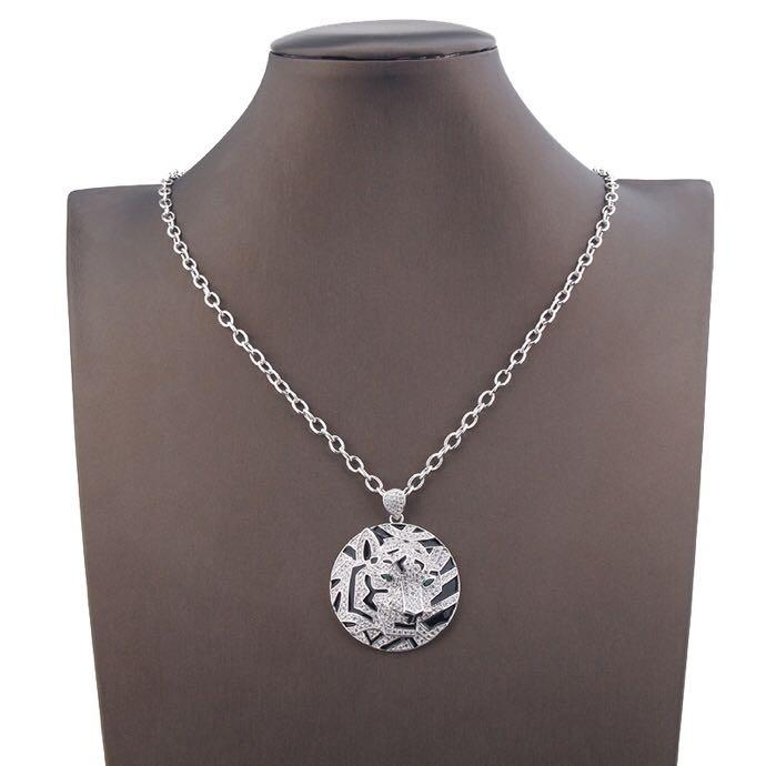fashion jewelry womens necklace full diamond pandora necklace tiger gold chains tiger head necklace jewelry mens pendant