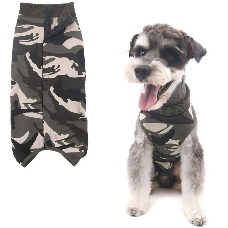 Hundeerholungsanzug pet katze t-shirt medizinische chirurgische bequeme kleidung post-operative weste nach chirurgisch tragen jk2012ph