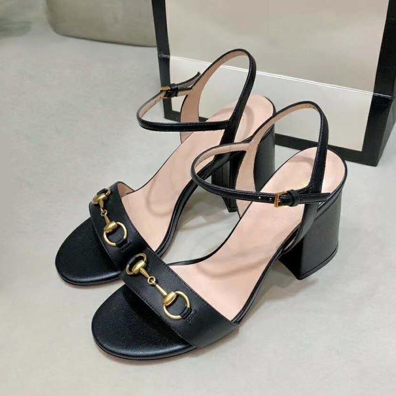 Tasarımcı Yaz Sandalet Seksi Moda Yüksek Topuklu Bayanlar Zarif Resmi Giyim Ofis İş Ayakkabı Büyük Boy 40 41