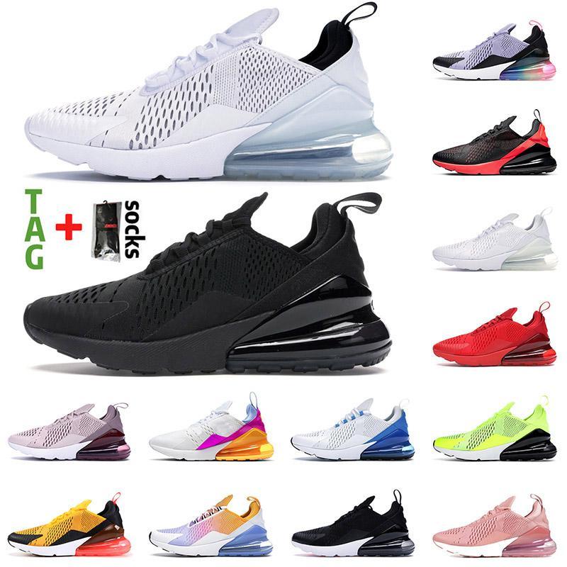 nike air max airmax 270 Stock 270 x nova qualidade executando sapatos esporte triplo preto todos os homens brancos homens de verão das mulheresMax.Sneakers Airmax Trainers.
