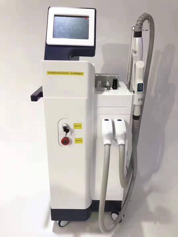 Machine d'épilation d'épilation de la machine de beauté de la machine de beauté de la machine de beauté multi-fonction multi-fonction IPL RF ND ND YAG PICOSECOND