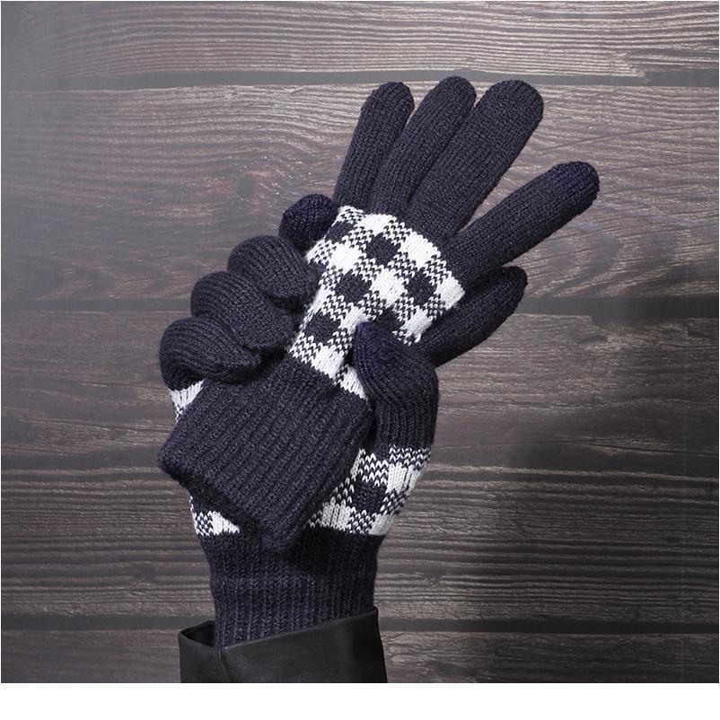 Gloves Touch Screen Driving Gloves Women Winter Gloves Luvas Motociclismo Handschoenen Couple Rekawiczki Mittens jllbSr