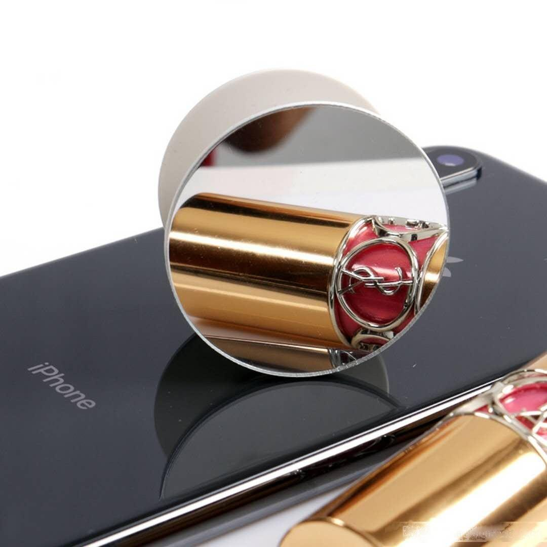 Universal 360 Grad Spiegel Handyhalter Echter 3M Kleber Erweiterbarer Grifffinger-Finger-Standflexibilität für iPhone x 8 7 Plus Samsung