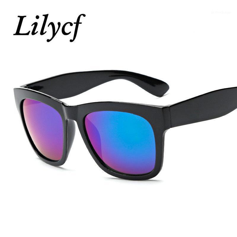 2020 New Lady Square Moda Gafas de sol Transparentes Hombres Gafas Hombres Diseñador de marca de alta calidad Gafas de sol UV4001