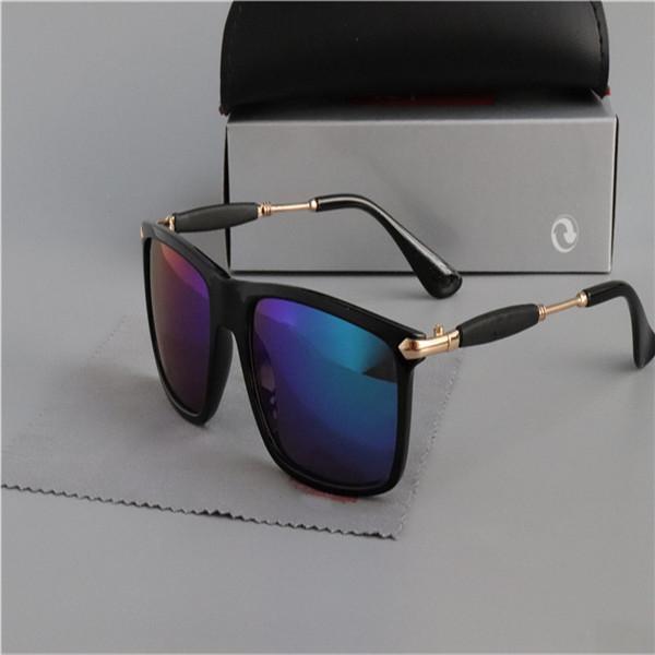 En Kaliteli Yeni Moda 2148 Güneş Gözlüğü Vintage Pilot Wayfarer Güneş Gözlükleri UV400 Erkekler Kadınlar Cam Bain Lensler ile rthrszj