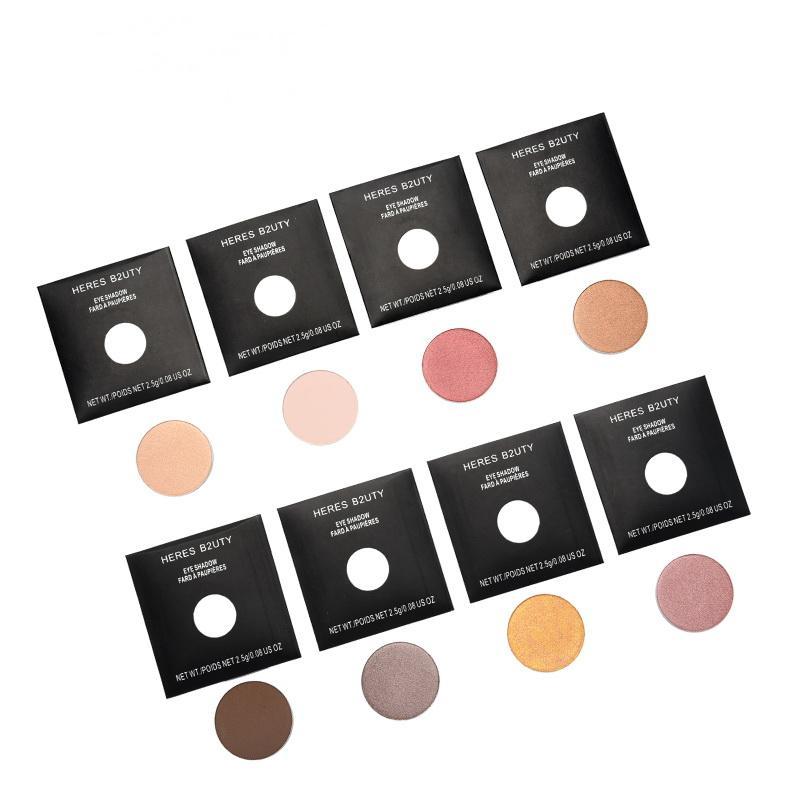 DIY Pro Pan Reule Single Eyeshadow Daily Natural Mineral Type Free Match Eyeshadow BUY 8 pcs GET 1 Box as GIFT