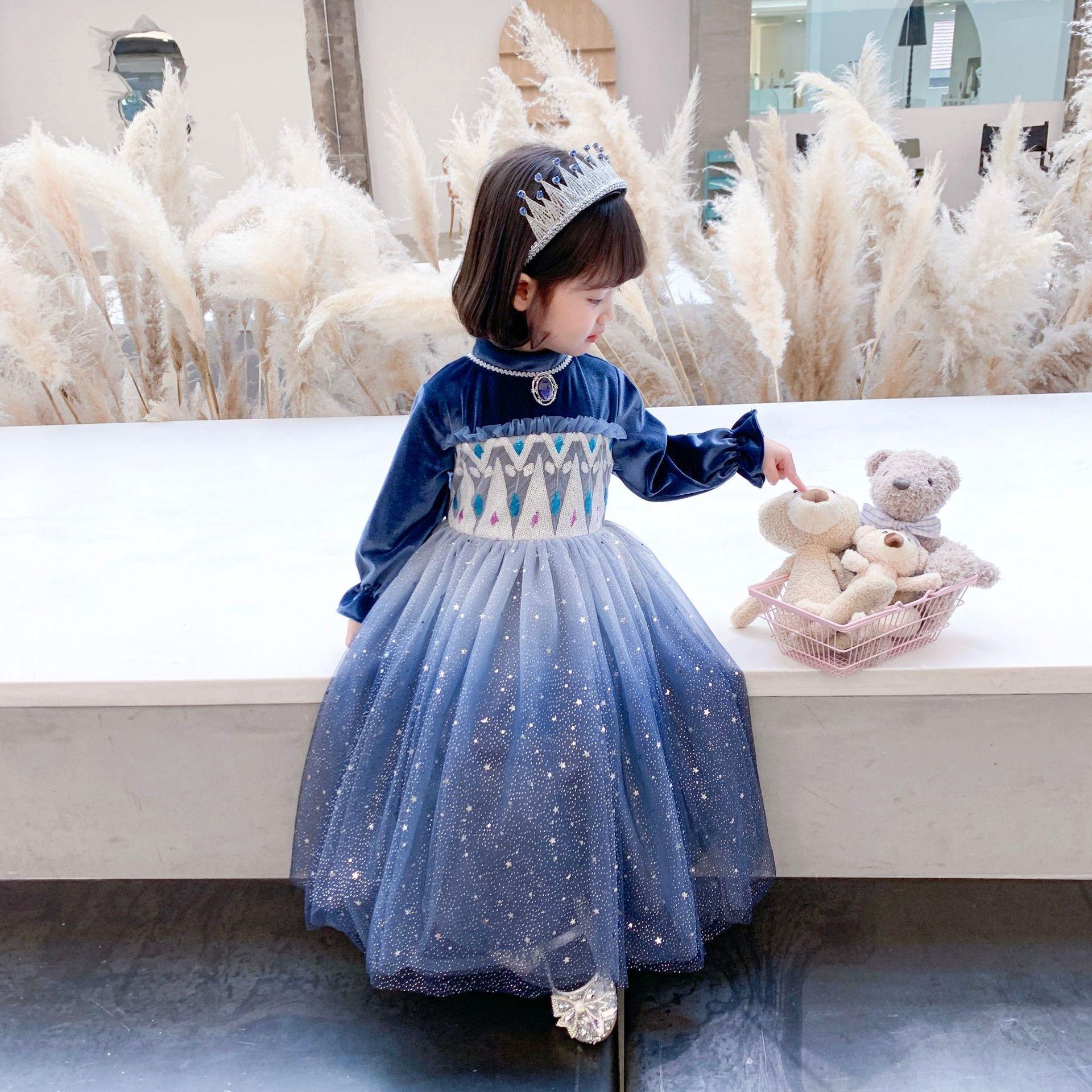 K2AR HA Ciao Godetevi Bambini Abiti da ragazza 2020 Summer Toddler Baby Dot Polka New Princess Casual Party Abiti per bambini Bambini Vestiti per bambini