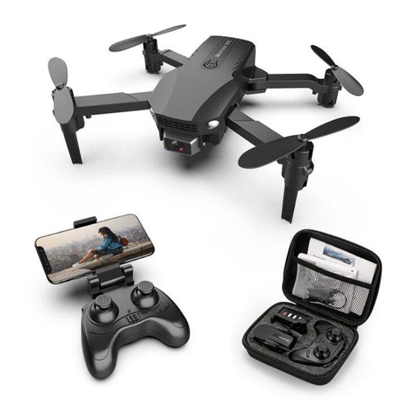 دروبشيب r16 طائرة بدون طيار 4 كيلو hd المزدوج عدسة البسيطة بدون طيار wifi 1080P في الوقت الحقيقي انتقال fpv بدون طيار كاميرات مزدوجة طوي rc quadcopter لعبة هدية