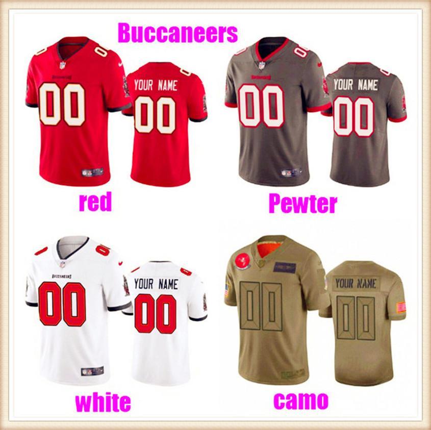 Пользовательские американские трикотажные изделия для мужчин женщин молодежи дети NFC AFC команды аутентичные фанаты индивидуальные 2021 футбол Джерси Заказать 4XL 5XL 6XL