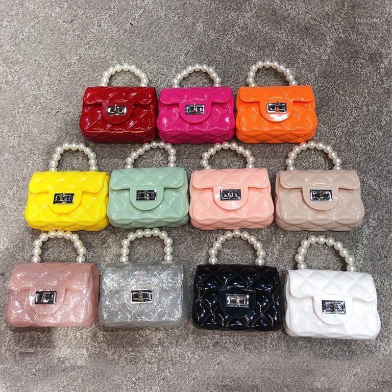 Crianças mini geléia bolsa e bolsa 2020 pvc transparente transparente sacos crossbody para meninas bebê fofo pequena bolsa de moeda de festa de festa de mão purse1