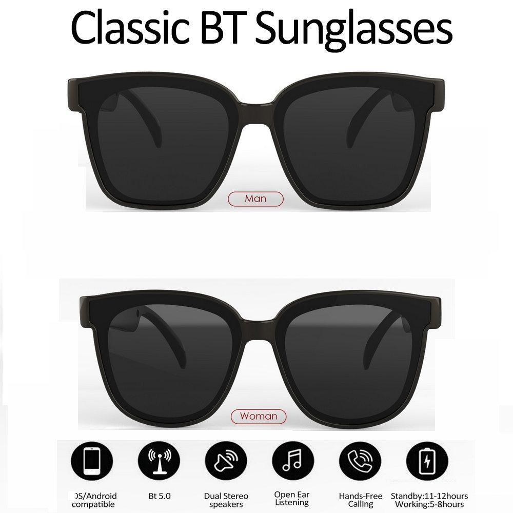 Top Bluetooth Sunglasses With Open Ear Technology Make Hands Free Enjoy the Freedom of Wireless Mobile Calls Bluetooth Headphones And More