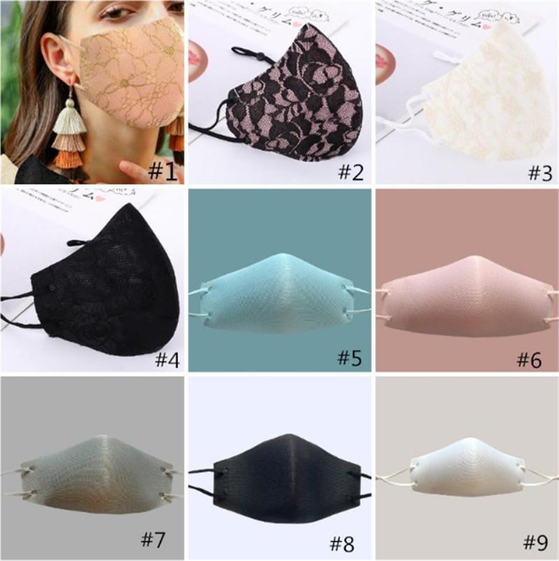 Sparkly piscar jóia lace face máscara festa mulheres máscara moda poeira sol lavável máscara facial