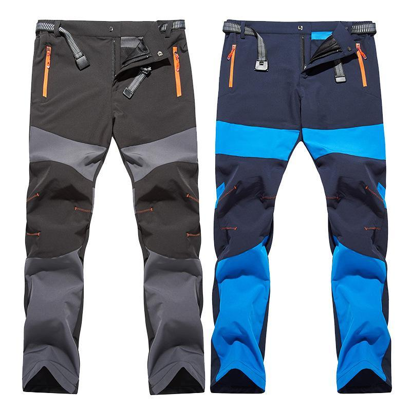Открытые брюки Мужчины Летние Пешие прогулки Быстрые сухие УФ Велоспорт Бандина для Человека Путешествия Рыбацкая Кемпинг Удобные Дышащие брюки