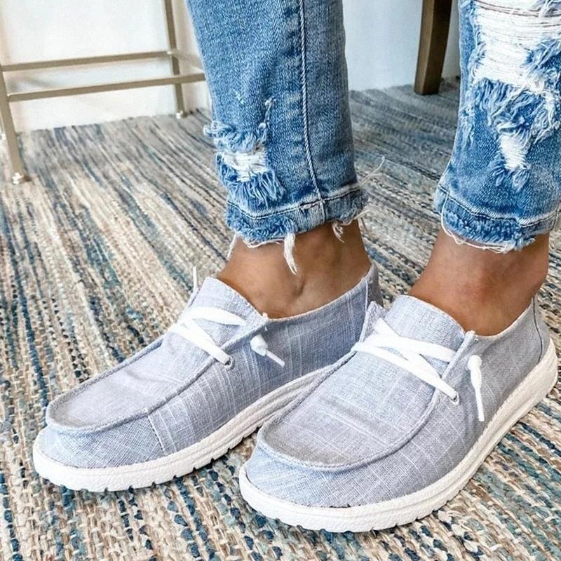 Femmes appartements chaussures décontractées femme à lacets plats plus size chaussures élèves fille plate décontracté été automne femmes chaussures chaussures # rh3n