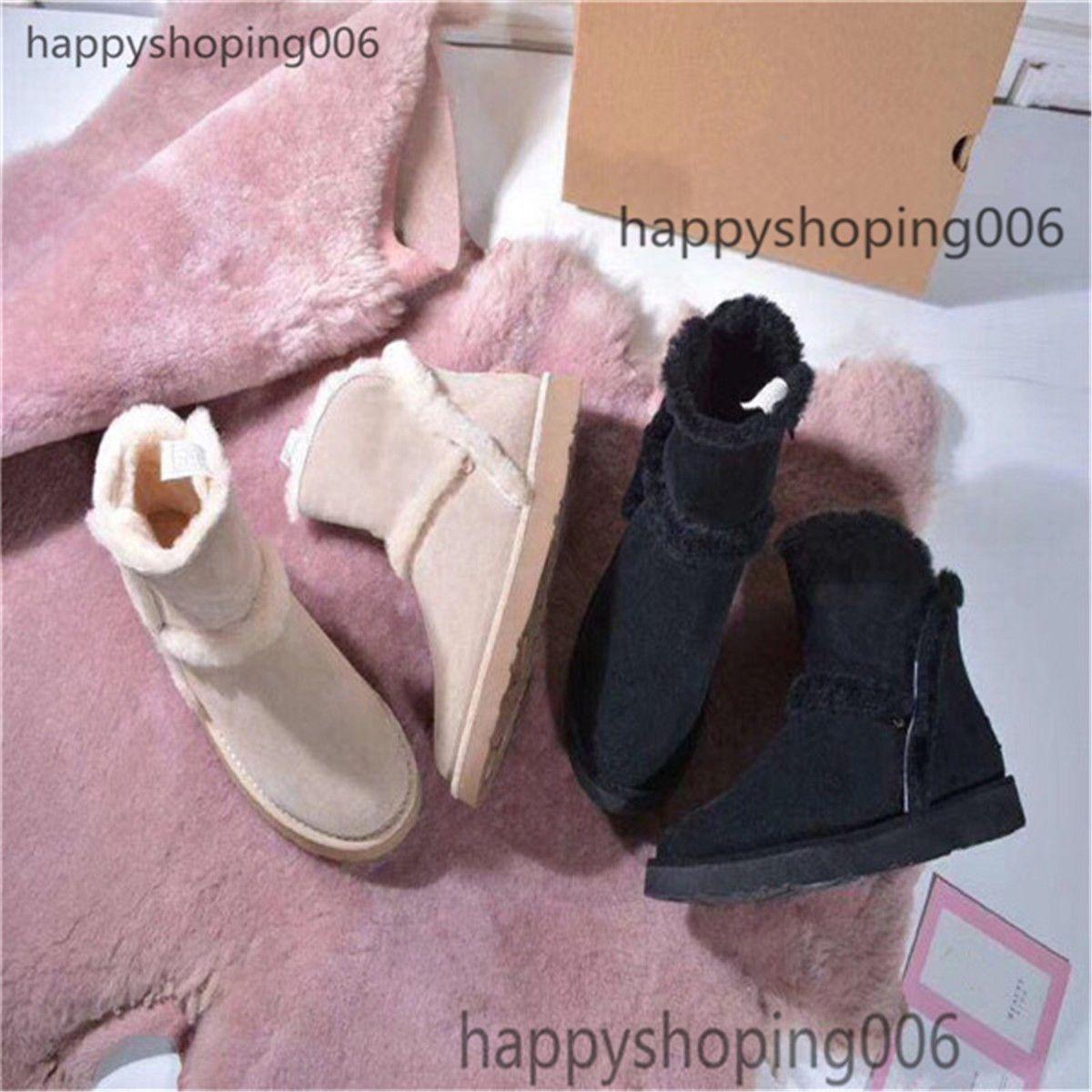 2020New Prodotti in vendita Classici da donna Stivali Low Stivali di alta qualità Nero Carino Stivali rosa Stivali invernali Stivali invernali