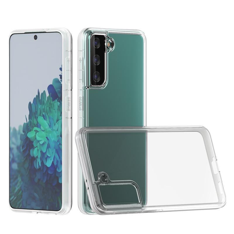 IPhone 12 Pro Max Kılıfları Samsung Galaxy S21 Artı Ultra A02 A32 Not 20 Huawei P40 2mm Kalın Temizle TPU Telefon Kılıfı