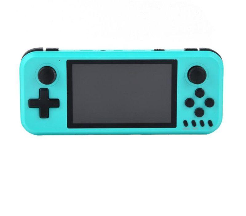 16 جيجابايت 4.0 بوصة المحمولة المحمولة لعبة لاعب X40 لعبة وحدة التحكم HD أفلام أطفال الموسيقى LCD القابلة لإعادة الشحن FC GBA ألعاب ل PSP