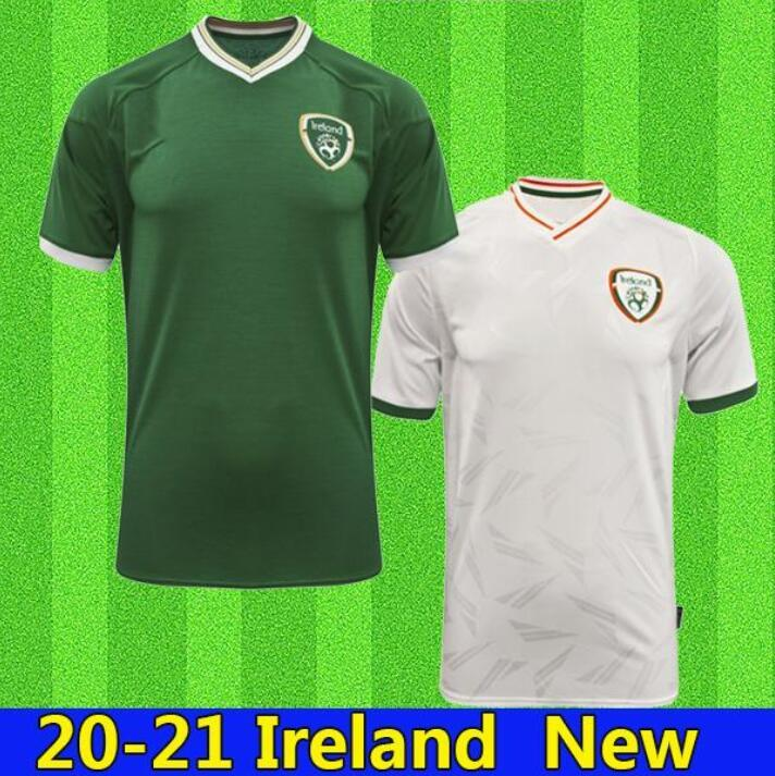 새로운 20 21 아일랜드 축구 유니폼 2020 2021 홈 멀리 아일랜드 공화국 국립 대표팀 태국 품질 유니폼 키트 키트 Footbal