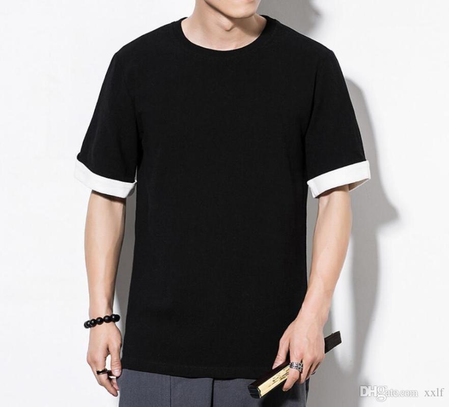 Sinicismo Set da uomo Stile cinese Summer Summer Uomo Casual Casual Suit manica corta Set maschili Set da uomo T Shirt