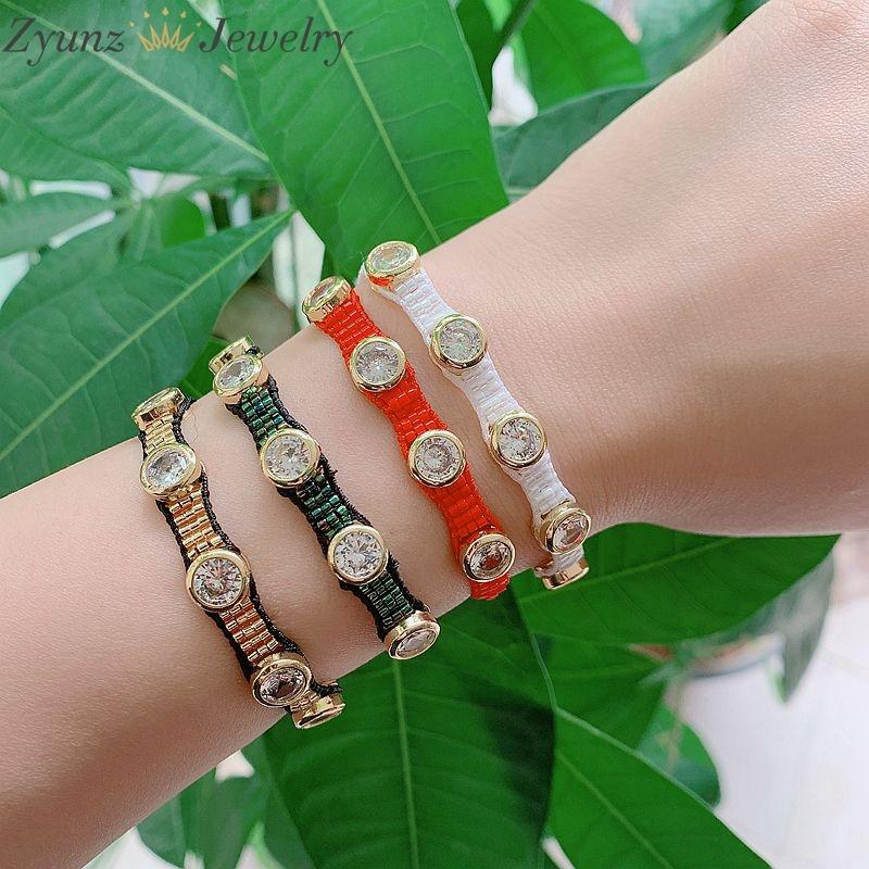 5pcs, 2020 Mexique Bracelets pour hommes Femmes Miyuki Bracelet Femme Cristal Pulseras Mujer DIY Bijoux Bargrande en gros Y1119