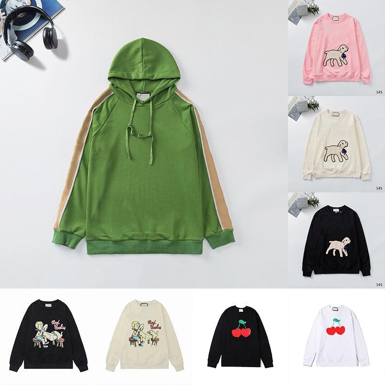 Novos 2021 Womens Designers Mens Hoodies Moda Hoodies Homem de Inverno Manga Longa Camisolas de Suor Com Capuz Pulôver Moletom 21ss