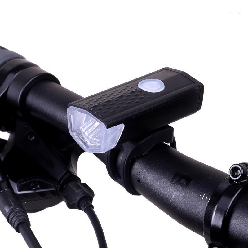300 lumen fahrrad licht wiederaufladbare Frontlenker LED licht wasserdichtes Fahrrad mit Lenkerhalterung und Seitenlichter1