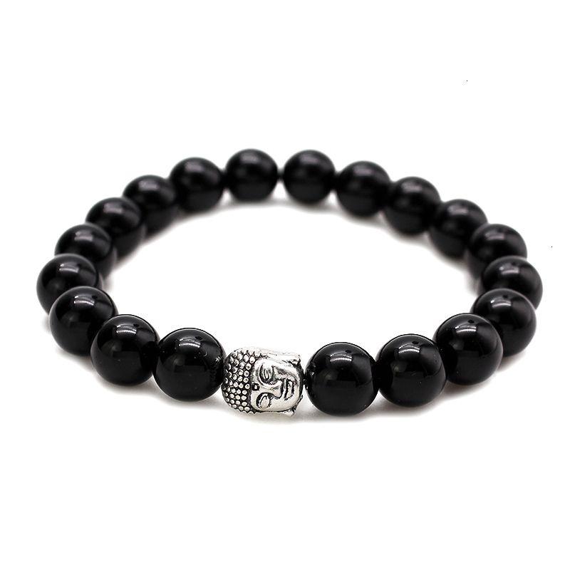 Factory Price Price Buddha Fashion 10mm Мужчины Tiger Eye Beads Браслеты Молитва Чакра Целевочный медитации Бирюзовый Natuarl Stone