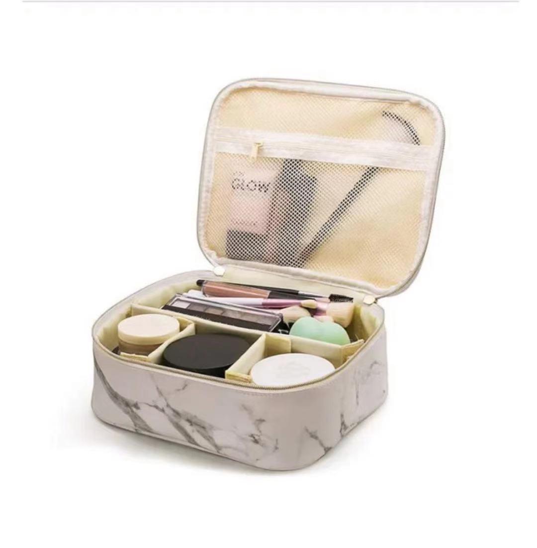 Neue große kosmetische Speicher-Reisetasche Muster-Kapazitäts-Tasche tragbarer Stein WHNNW