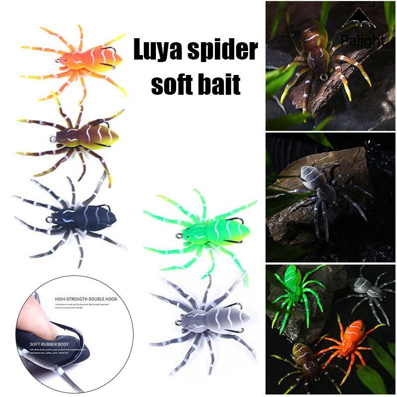 Spider Topwater Bit Soft Plastic Fishing Lure Spider Topwater Bait Soft Plastic Fishing Lure 5 colors available