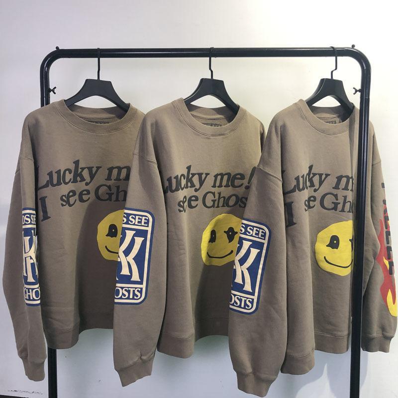 2021 yeni SS çocuklar hayaletler hoodies erkekler kadınlar 1: 1 hayalet patch cpfm streetwear hip-hop kanye west tişörtü NMU8