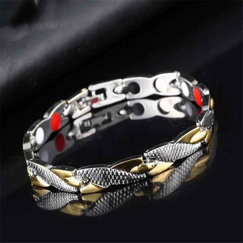 Бесплатный браслет из магнитных ржавчины для женщин Витая Здоровые силовые терапии Магниты Магнитные браслеты Браслеты Мужчины Здоровье Ювелирные изделия
