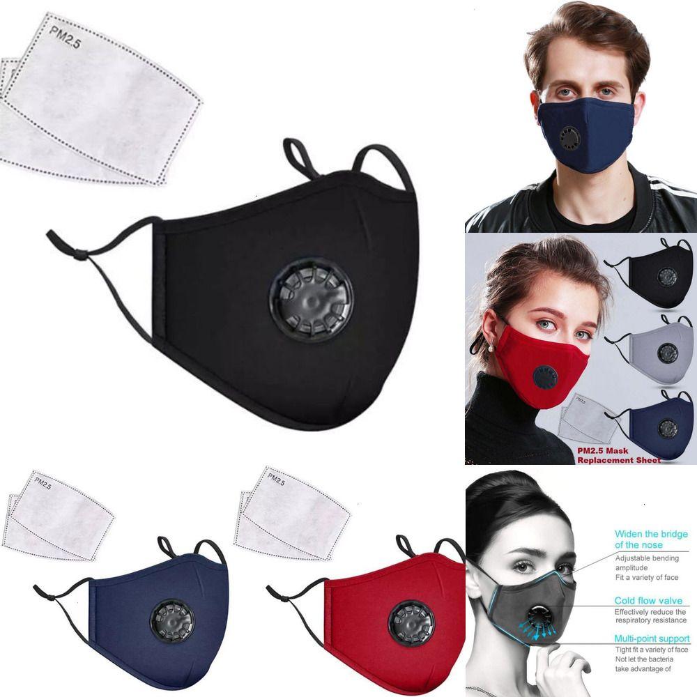 Visage Coton bouche Cyclisme Couverture respirateurs anti-poussière extérieure + PM2.5 masque FilterOutlet81VS