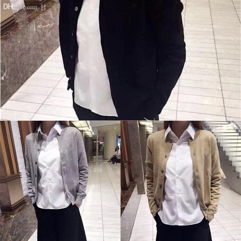 6xkaj Свободные Пальто шерстяные кардиган свитер мода дамы с длинным рукавом теплый твердый с коротким рукавом белый ля цвет кардиган женщин повседневная вязать